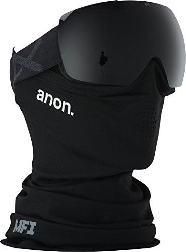 Anon(アノン) スノーボード スキー ゴーグル メンズ M2 Smoke / Dark Smoke 185561 アジアンフィット 球面レンズ 業界最速レンズ交換