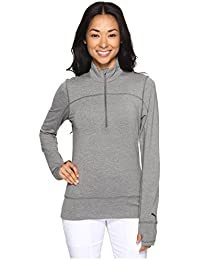 [PUMA(プーマ)] レディースセータージャンプスーツ 1/4 Zip Popover Medium Gray Heather XS