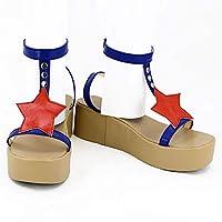 コスプレ靴 ブーツ FateGrand Order  玉藻前(たまものまえ)風 プレシューズ コスプレブーツ おしゃれ 靴 Cosplay shoes boots アニメ コスチューム