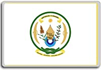 Presidential Standard Of Rwanda - Head of state standard fridge magnet - 蜀キ阡オ蠎ォ逕ィ繝槭げ繝阪ャ繝