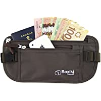 Money Belt with RFID Blocking Technology. Safe Waist Bag, Secure Belt for Men and Women. Fits Passport, Wallet, Phone and Personal Items. Running Belt, Fanny/Waist Pack