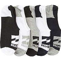 Billabong Men's Invisible Sock 5 Pack, Mixed, One