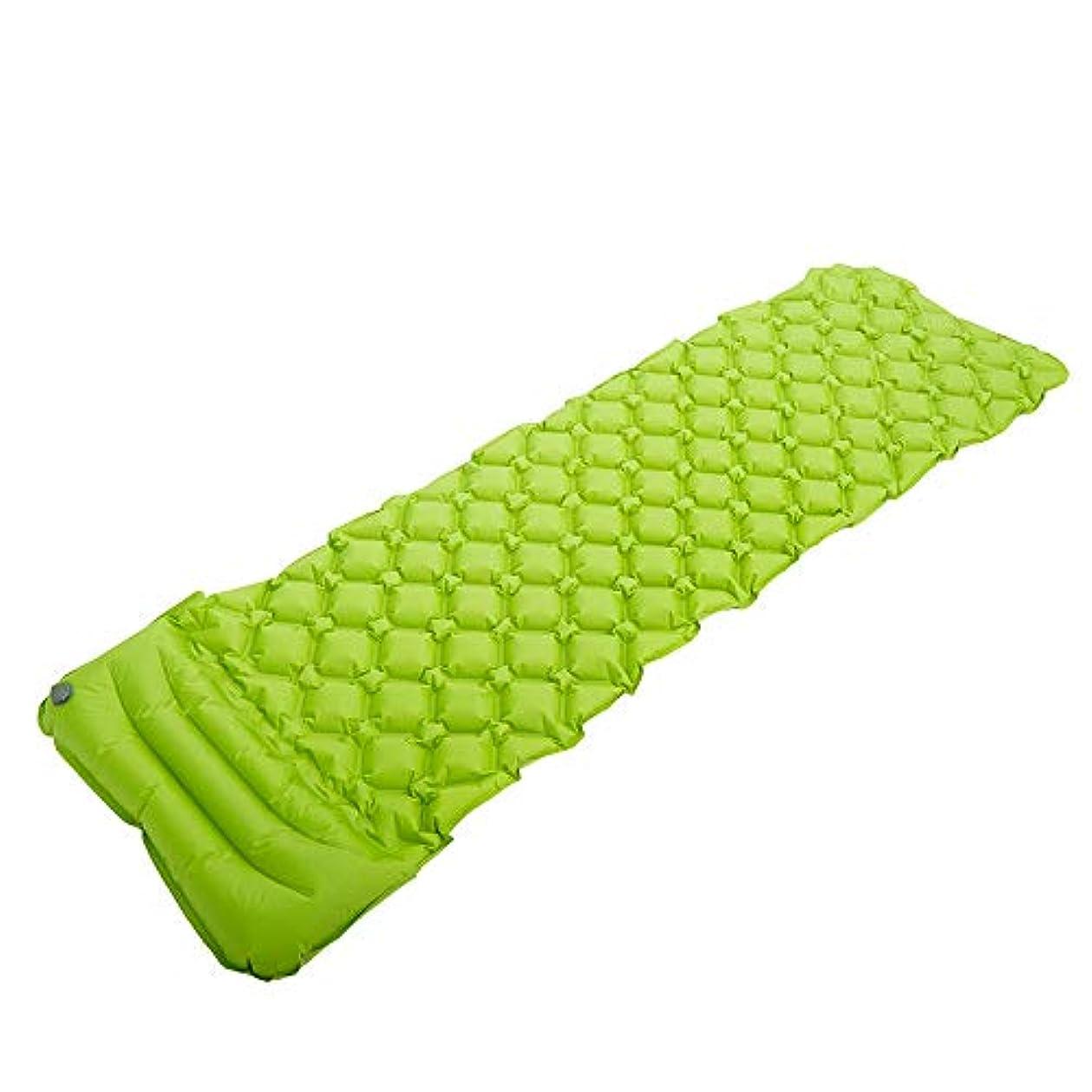 主流素人ビヨン室外露营单一通货膨胀靠垫厚实空气垫子床垫超轻量通货膨胀垫湿气垫