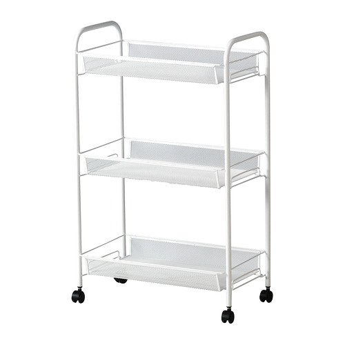 RoomClip商品情報 - IKEA(イケア) HORNAVAN ワゴン ホワイト