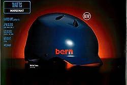 (バーン)Bern NINO(Visor付) Matte Black BE-VJBMBKV-11