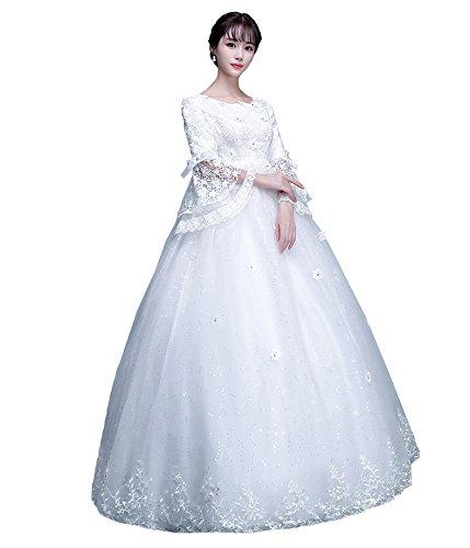 hanamaya ウェディングドレス 妊娠さんもOK  ドレス 演奏会用ロングドレス 大きいサイズのウェディ 演奏会用 ロングドレス 二次会ドレス 花嫁ドレス
