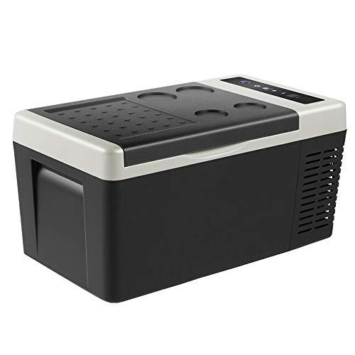 車用冷蔵庫 車用冷凍庫 18L 12V 24V ポータブル 冷蔵庫 2WAY電源対応 車載 -22℃...