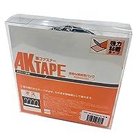 AKテープ粘着付オス黒 AK-07 25MMX5M アラコー