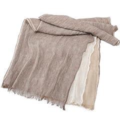 Linen Scarf 1351988: Brown