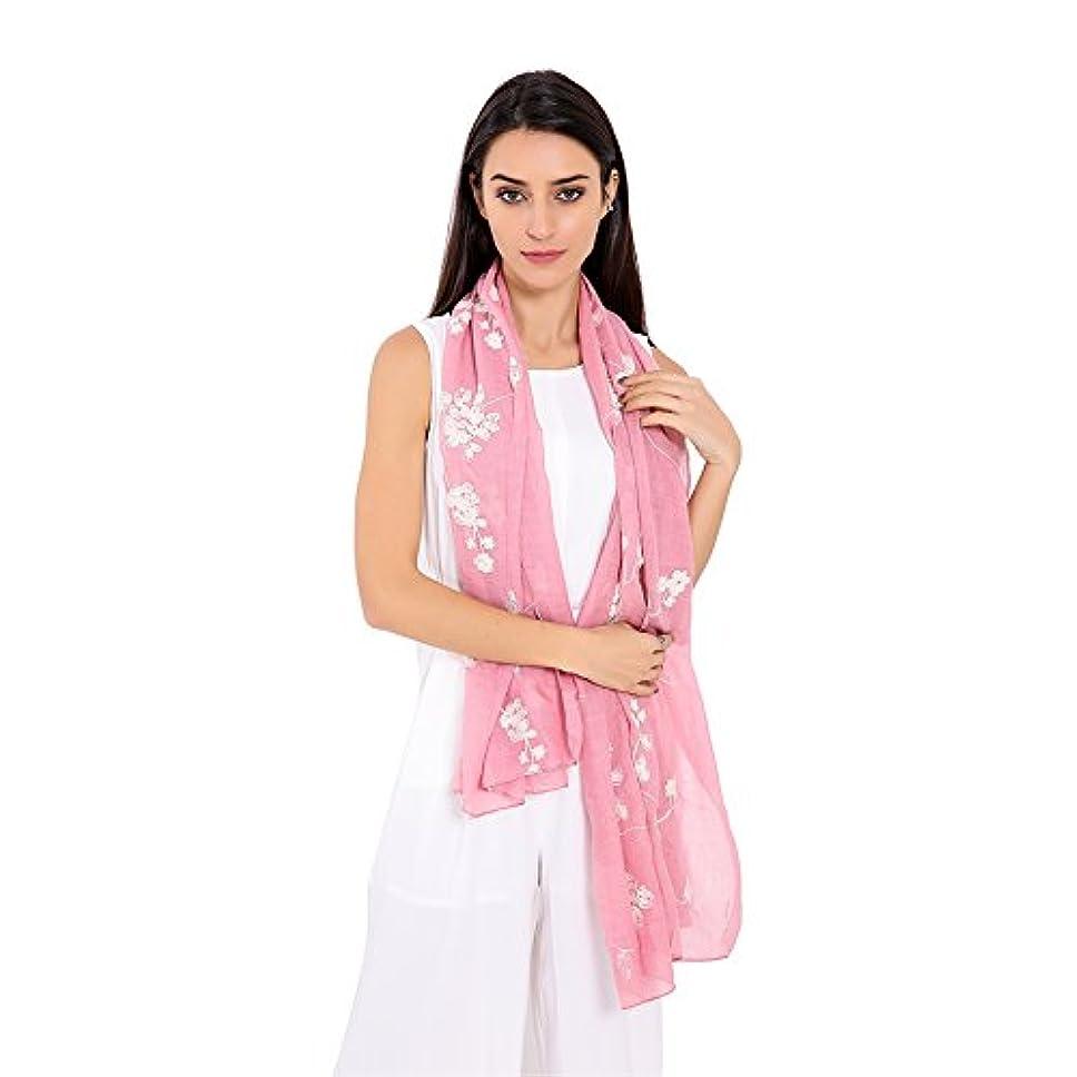 写真うっかり画家iBasteストール ショール スカーフ 冷房対策 おしゃれ 綿麻 薄手 羽織り 大判 uv カット パーティー フォーマル 柔らかい 毛系刺繍