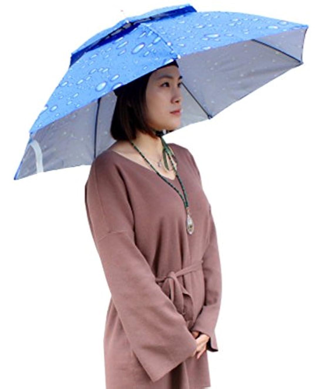 クスコ夢ファンHeaven Days(ヘブンデイズ) 釣り傘 傘帽子 折り畳み 釣り フィッシング ガーデニング キャンプ 17040297