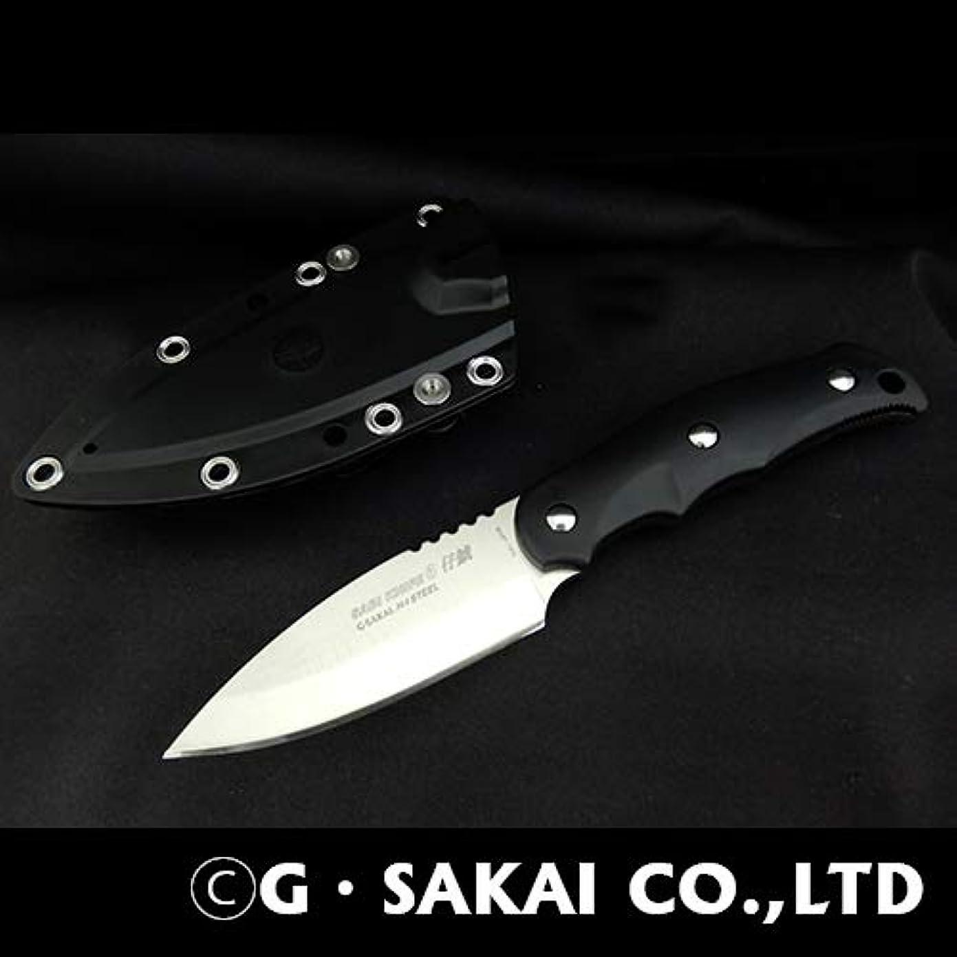 静かに再生マッサージジー?サカイ(G?SAKAI) SABIKNIFE6(仔鯱)FRN ブラック 左利き用 11512 ブラック