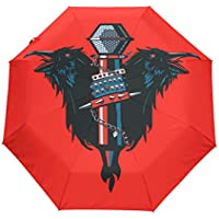 折りたたみ傘 音楽レーベン 日傘 ワンタッチ自動開閉 超軽量 完全遮光 uvカッ レディース傘頑丈な8本骨 耐風撥水 紫外線対策 遮熱効果 晴雨兼用