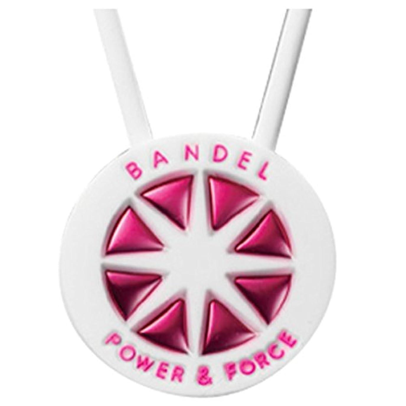 電化する重々しいエスカレーターバンデル(BANDEL)ネックレス[ホワイト×ピンク]レギュラータイプ(45cm)/正規品 シリコン製 アクセサリー スポーツ ゴルフ
