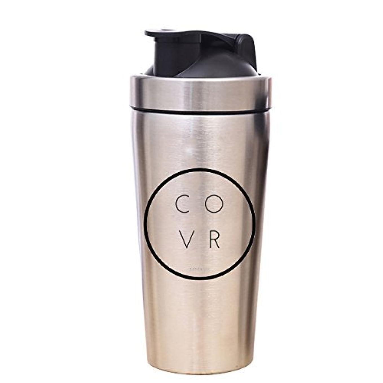 気づかない応用つまらないメタルジムShaker Bottle – COVR 25 oz