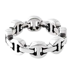 [ホーセンブース] HOORSENBUHS DAME TRI LINK トライリンク リング 指輪 シルバー 【並行輸入品】 HB002/ 4 日本サイズ7号 (USサイズ4号)