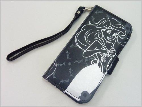 ディズニープリンセス アリエル(人魚姫) iPhone6、iphone6S(アイフォーン6S)対応手帳型スマホケース/ブ...