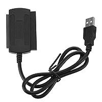 USB 2.0 - IDE SATA アダプターケーブル 2.5/3.5インチHDDディスクコンバーター用