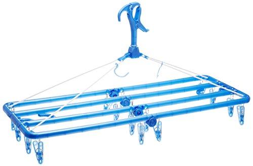 オーエ ML2 洗濯 物干し バスタオル ハンガー ブルー ...