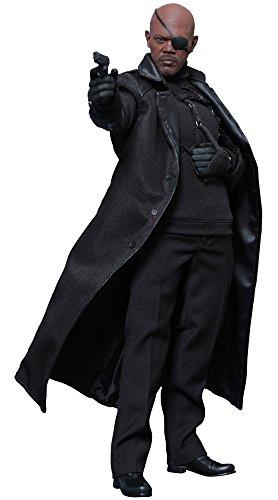 ムービー・マスターピース キャプテン・アメリカ/ウィンター・ソルジャーニック・フューリー 1/6スケール プラスチック製 塗装済み可動フィギュア