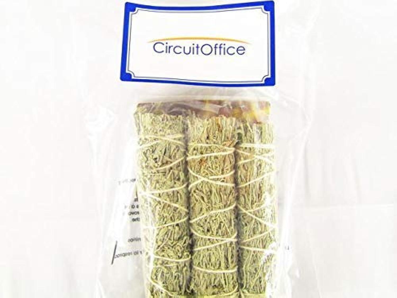 Ceremonial Smudge Sticks Incorporate Mountainセージ、杉、およびSweetgrass , 3 - Pack 4
