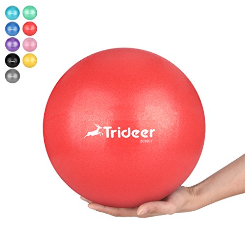 Trideer 25cm バランスボールピラティスボール (...