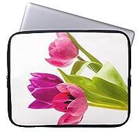 "UDD電子バッグピンクグリーンフラワーデザインアート タブレットスリーブ ケース インナーケース 7.9"" iPad Mini 4/3/2/1 |8"" Samsung Galaxy Tab S2 | 8"" Lenovo Tab 4 Plus | Lenovo Tab3 | Asus Zenpad Z8s |Apple smart keyboard |Google Nexus 7対応"