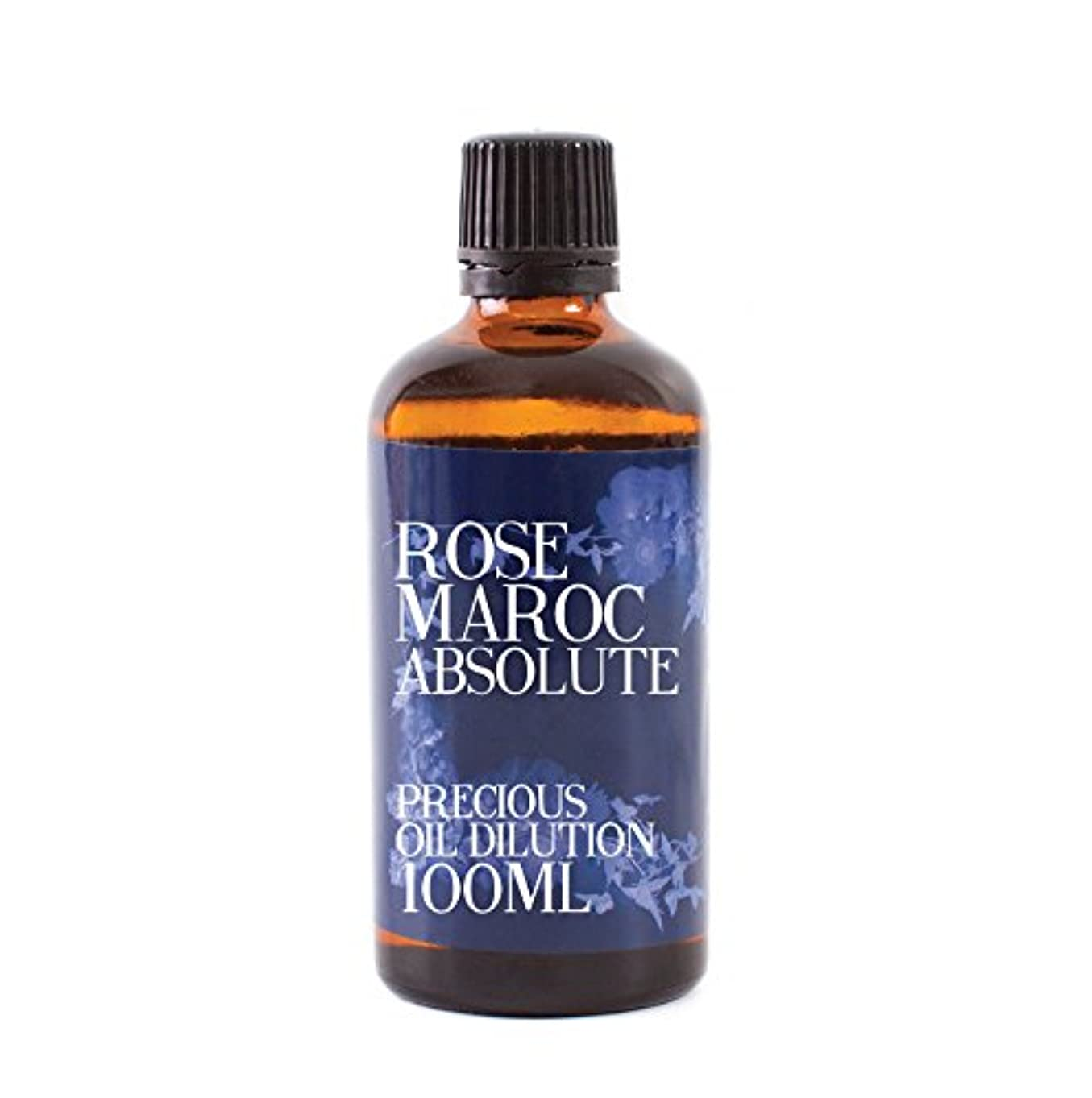 勇敢なでる悲しいRose Maroc Absolute Oil Dilution - 100ml - 3% Jojoba Blend