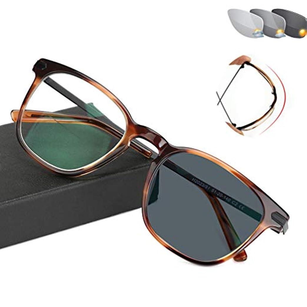 パイプライン郊外シリーズUVプロテクション老眼鏡、光学リーダーコンピュータメガネ、屋外自動色補正 - メンズおよびウーマン用