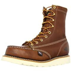 Thorogood 8 in Moc Toe Safety Toe: 804-4208