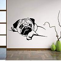 Onlymygod装飾壁ステッカー眠っているスターリングパターン彫刻ホームアールデコウォールステッカー美しい58×52センチ