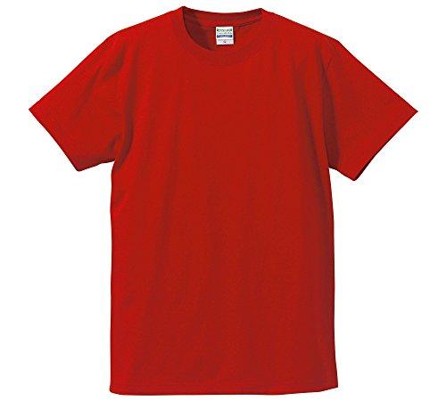 (ユナイテッドアスレ)UnitedAthle 5.6オンス ハイクオリティー Tシャツ 500101 069 レッド S