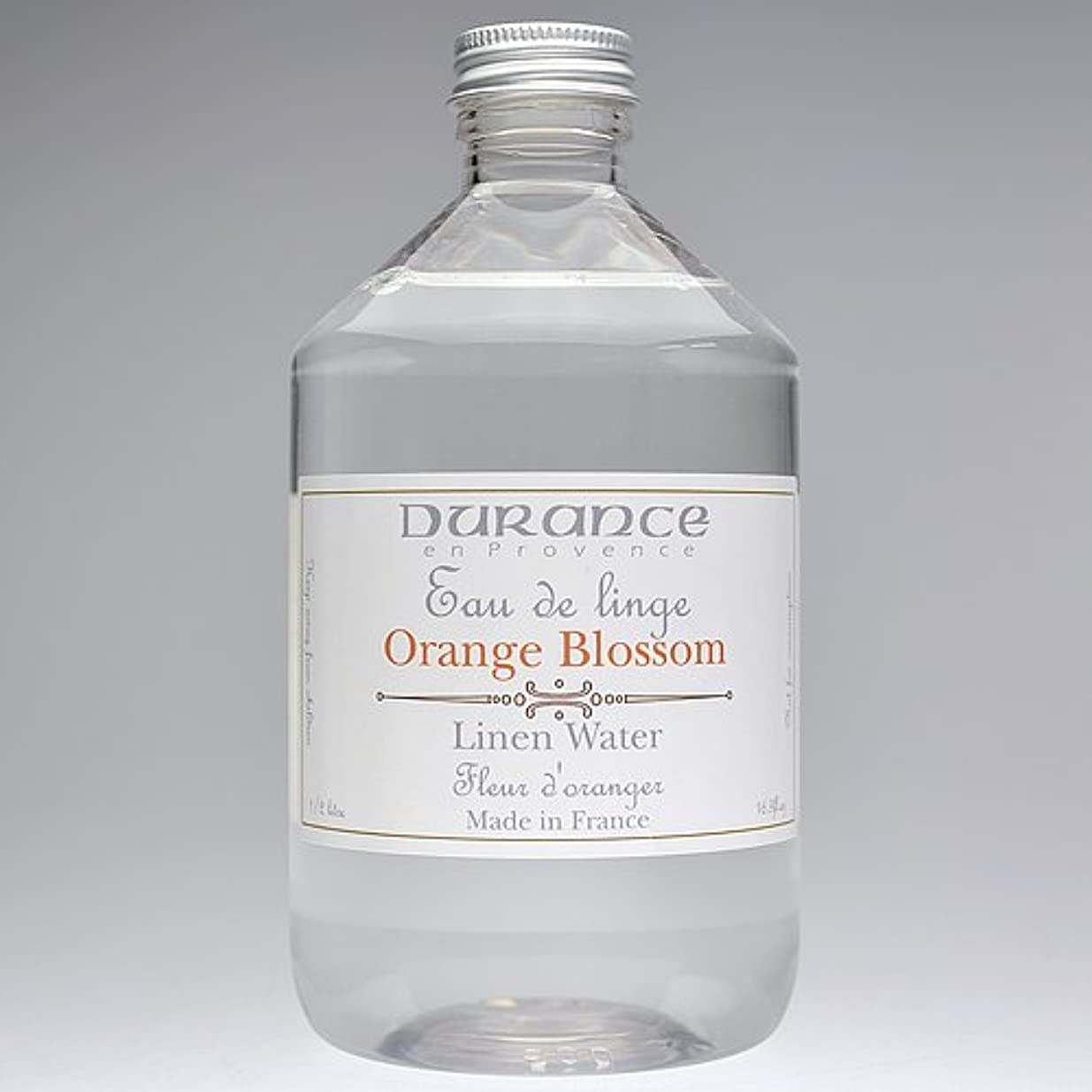 ルネッサンスローン発表DURANCE(デュランス) リネンケアシリーズ リネンウォーター 500ml 「フラワーオレンジ」 4994228008619