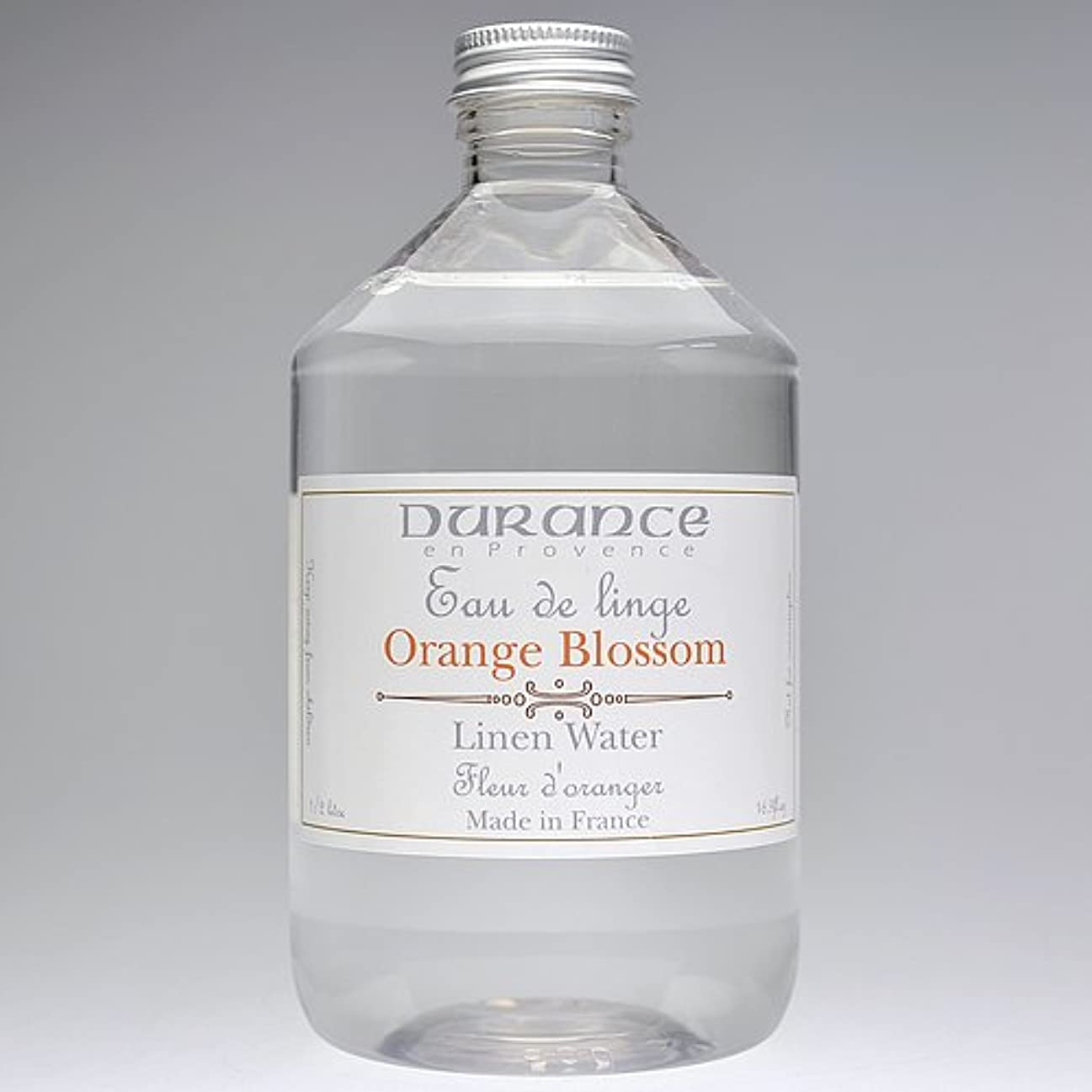 メンテナンス第ネットDURANCE(デュランス) リネンケアシリーズ リネンウォーター 500ml 「フラワーオレンジ」 4994228008619