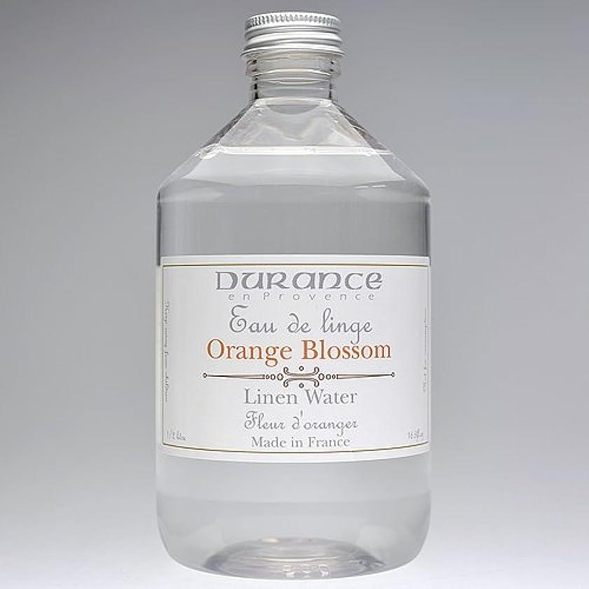 不適当崇拝する博覧会DURANCE(デュランス) リネンケアシリーズ リネンウォーター 500ml 「フラワーオレンジ」 4994228008619