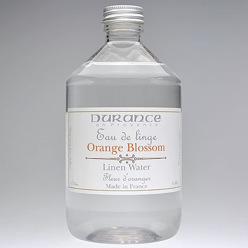 指標プレゼン専制DURANCE(デュランス) リネンケアシリーズ リネンウォーター 500ml 「フラワーオレンジ」 4994228008619