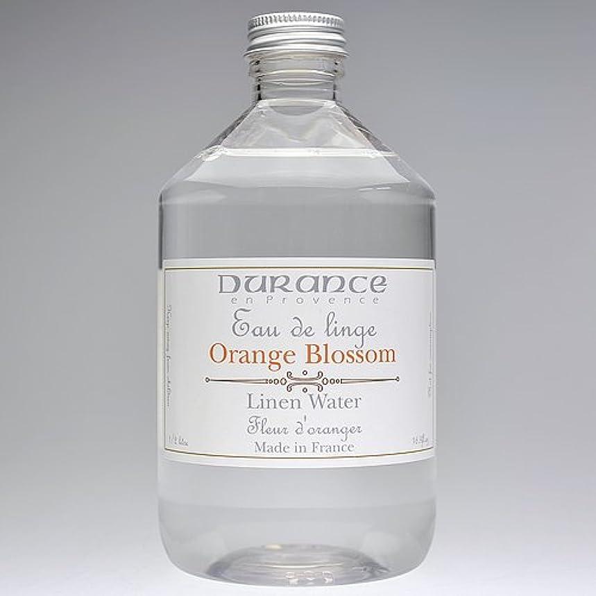 敬意すり日光DURANCE(デュランス) リネンケアシリーズ リネンウォーター 500ml 「フラワーオレンジ」 4994228008619