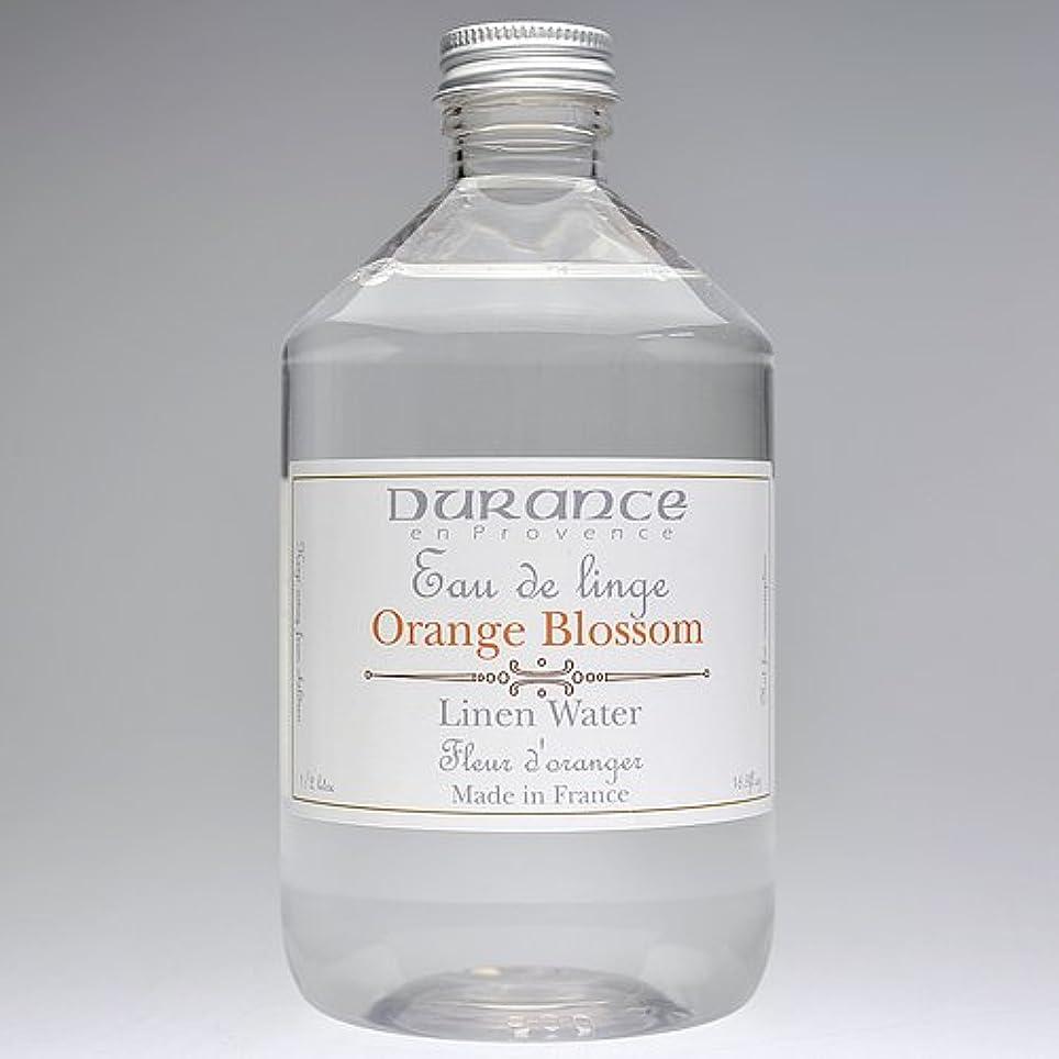 偽造注釈を付けるテレマコスDURANCE(デュランス) リネンケアシリーズ リネンウォーター 500ml 「フラワーオレンジ」 4994228008619