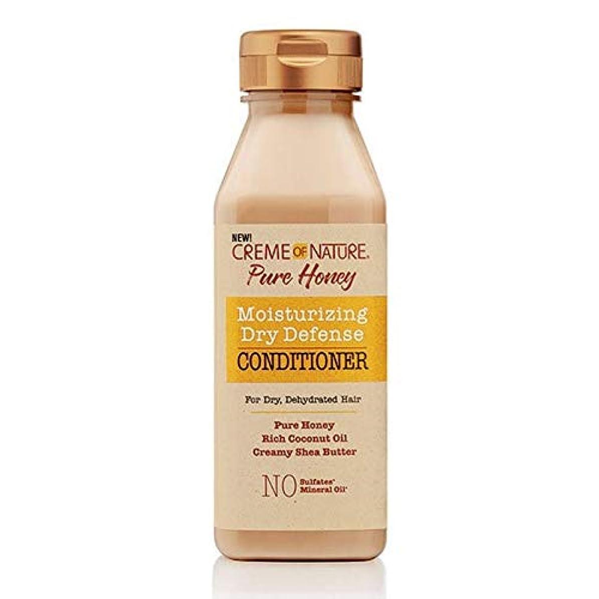 冷蔵するサイドボード配偶者[Creme of Nature ] 自然の純粋蜂蜜ドライ防衛コンディショナー355ミリリットルのクリーム - Creme of Nature Pure Honey Dry Defence Conditioner 355ml...