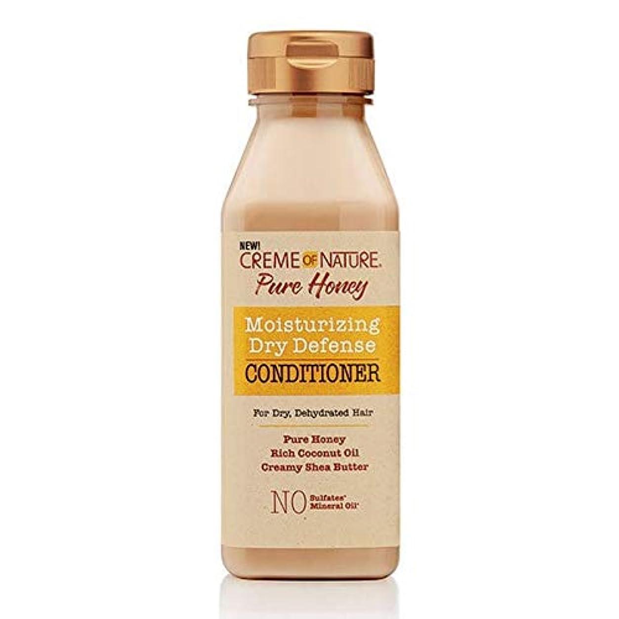 正統派顕現もの[Creme of Nature ] 自然の純粋蜂蜜ドライ防衛コンディショナー355ミリリットルのクリーム - Creme of Nature Pure Honey Dry Defence Conditioner 355ml...