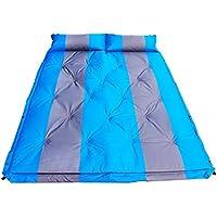 RG- ダブルはスプライスすることができます自動インフレータブルクッションモイスチャライティングマット厚い広げ睡眠テントパッド192 * 132 * 3.5センチメートル屋外