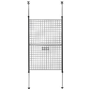 山善(YAMAZEN) 突っ張りパーテーション(幅90) ブラック SP-90(MBK)