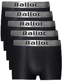 Ballot ボクサーパンツ メンズ 下着 5枚セット ボクサーブリーフ