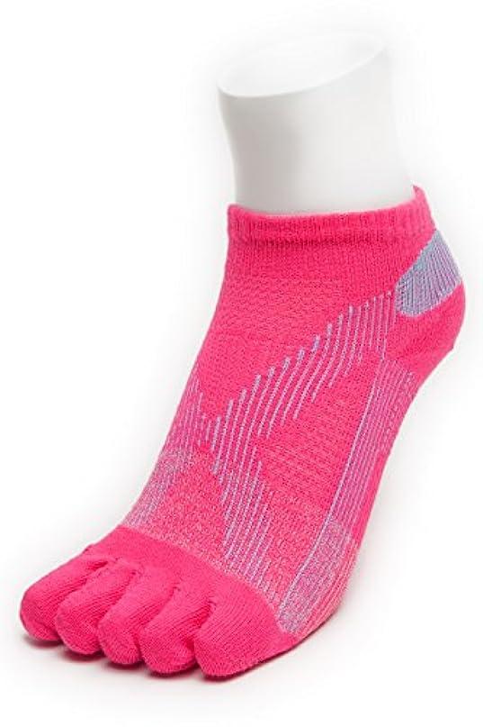 クローンスペース新年AIRエアーバリエ 5本指ソックス (22~25㎝?ピンク)テーピング ソックス 歩きやすく疲れにくい靴下 【エコノレッグ】【レディース 靴下】 (ピンク)
