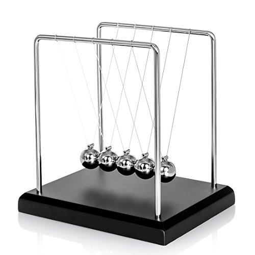 BOJIN デスク インテリア ニュートンクレドール ニュートン揺りかご バランス 衝撃玉 科学 心理学 玩具-s