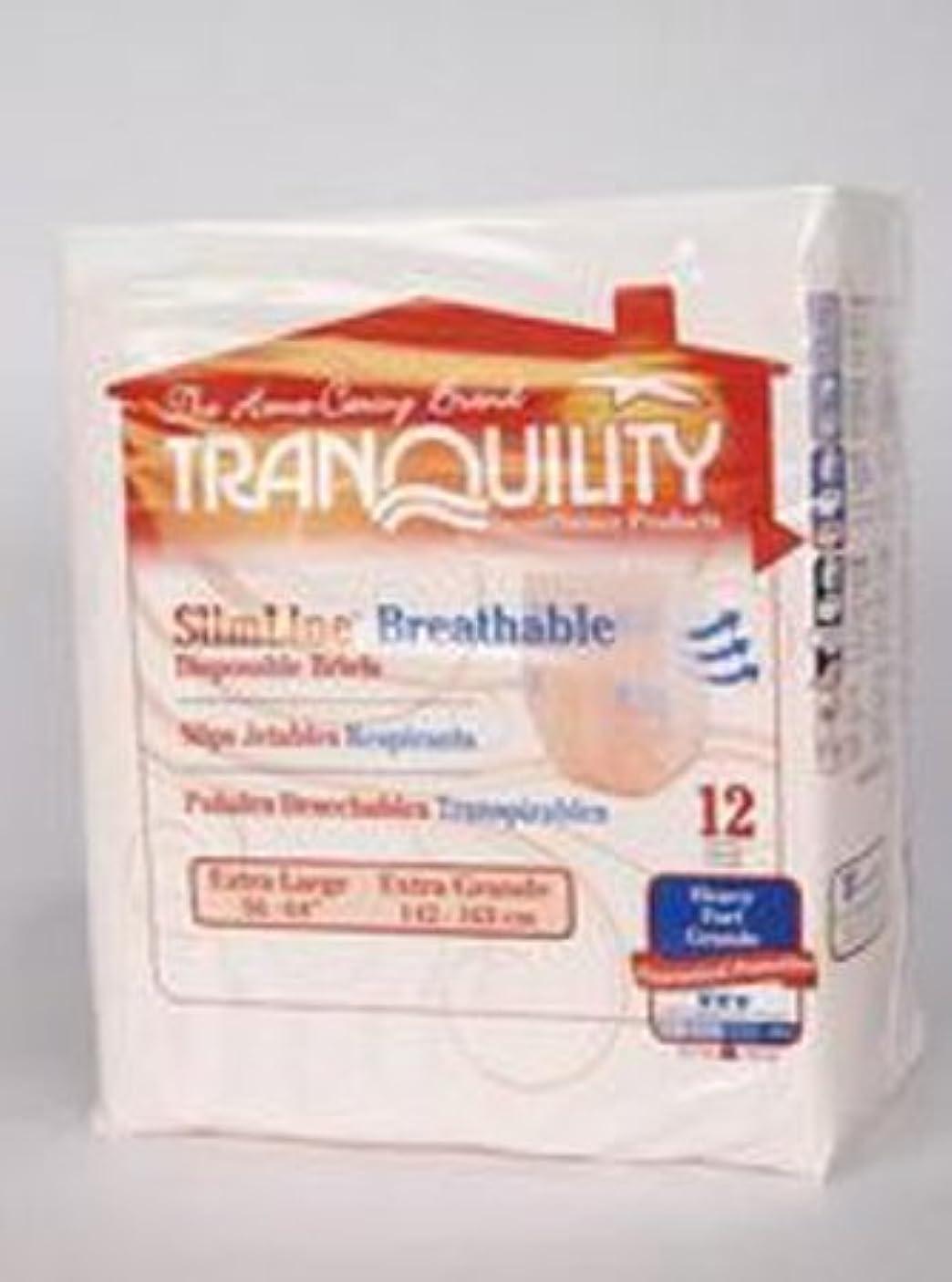 ルーメンバー思われるTranquility Extra Large Breathable Brief - 72 per Case