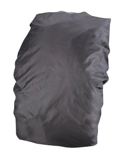 キャプテンスタッグ キャンプ 登山用 ザックカバー リュック ブラック FEEL BOSCO 35M-9867