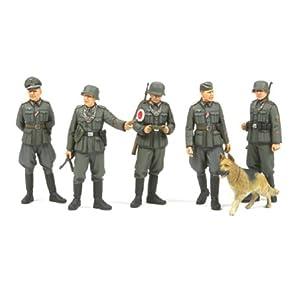 タミヤ 1/35 ミリタリーミニチュアシリーズ No.320 ドイツ陸軍 野戦憲兵セット プラモデル 35320