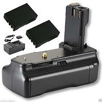 Bower xbgnd40交換バッテリーグリップfor Nikon d3000/ d5000+ 2芯入り+充電器