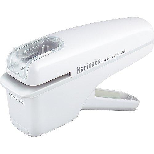 コクヨ 針なしステープラー ハリナックス 白 ハンディタイプ SLN-MSH104W